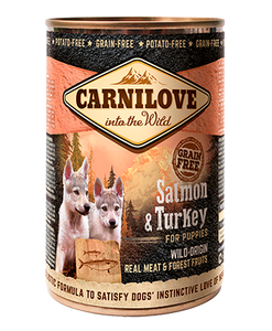 Carnilove Salmon & Turkey Puppy