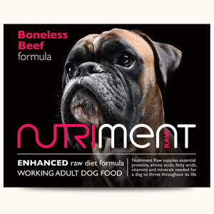 Nutriment Boneless Beef Formula Adult
