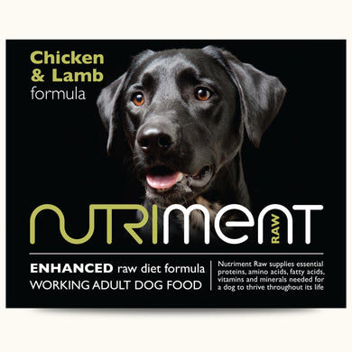 Nutriment Chicken And Lamb Formula Adult