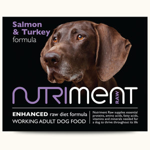 Nutriment Salmon With Turkey Formula Adult