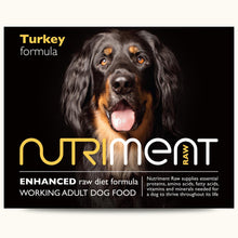 Load image into Gallery viewer, Nutriment Turkey Formula Adult