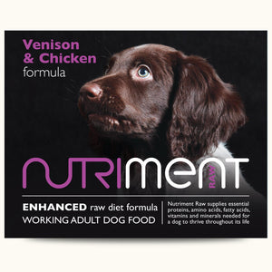 Nutirment Venison With Chicken Formula Adult