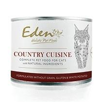 EDEN WET FOOD FOR CATS TURKEY & HERRING 6x200g