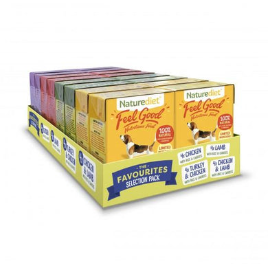 Naturediet Feelgood Selection Pack 16x390g