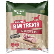 Load image into Gallery viewer, Natures Menu Natural Raw Treats Marrowbone