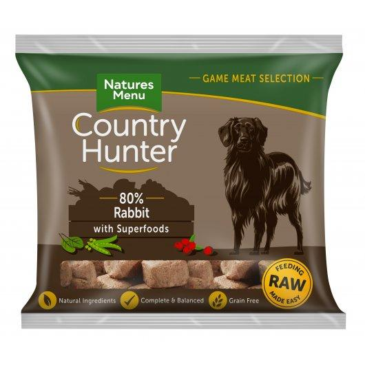 Country Hunter Raw Complete Nuggets Rabbit & Cranberry 1kg