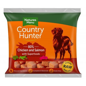 Country Hunter Raw Frozen Nuggets Salmon With Chicken 1kg