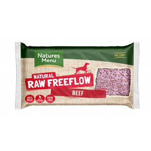 Natures Menu Raw Free Flow Mince Beef 2kg