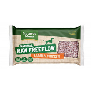 Natures Menu Raw Free Flow Mince Lamb & Chicken 2kg