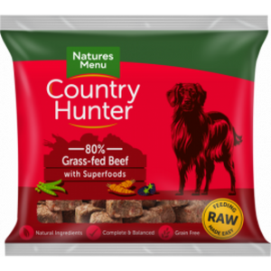 Country Hunter Raw Frozen Nuggets Beef With Superfoods 1kg