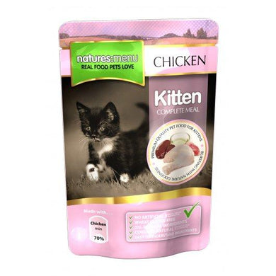 Natures Menu Kittern Pouches Chicken 12x100g