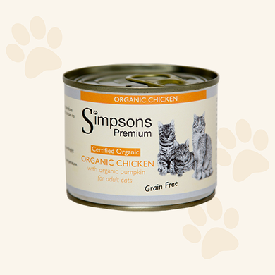 SIMPSONS ORGANIC CHICKEN & PUMPKIN 6X200g