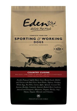 Eden 80/20 Working & Sporting Dog Country Cuisine