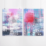 Abstract Art Set wall decor prints Cape Town