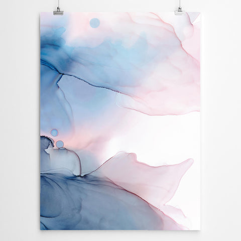 Ethereal Abstract Canvas Print