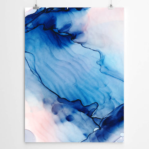 Serene Abstract Watercolour Art
