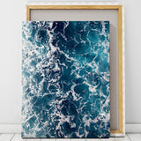 Aerial Beach Art Canvas