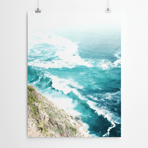 coastal Aerial beach photography beach prints Cape Town
