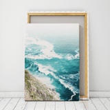 canvas aerial beach photography prints