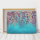 impressionist canvas art print