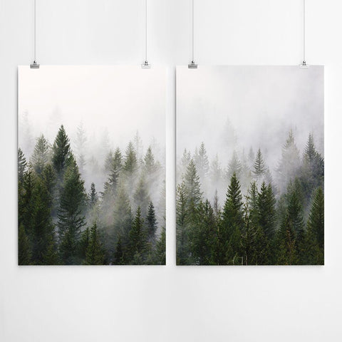 Artworld forest wall art print