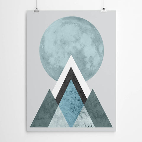 Blue Mountain Print