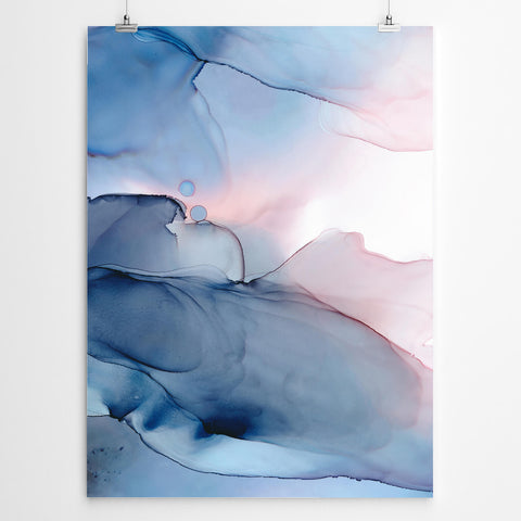 Entice abstract painting print