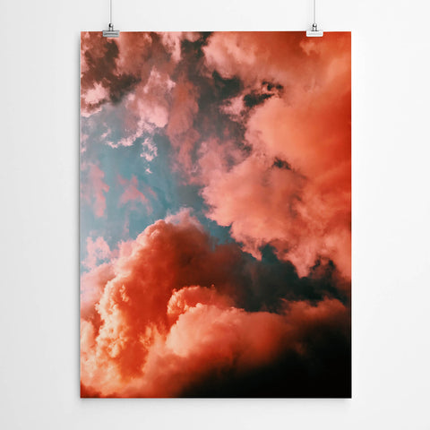 Red Cloud Wall Art