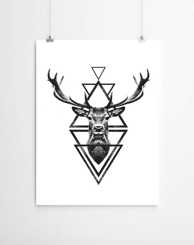 Geometric stag cape town