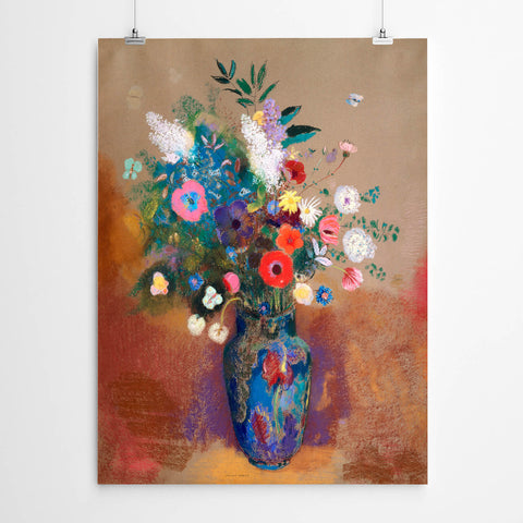 Flower Vase Wall Art