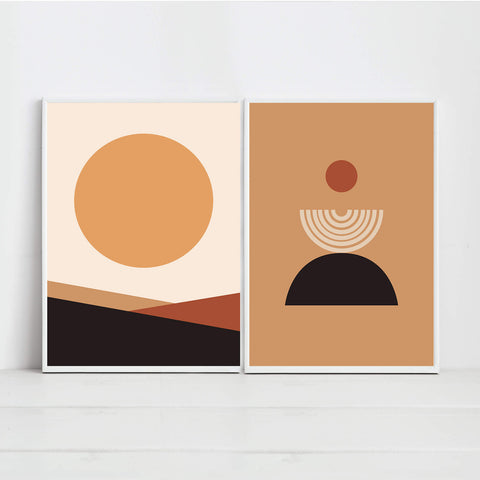 Abstract Geometric Wall Art