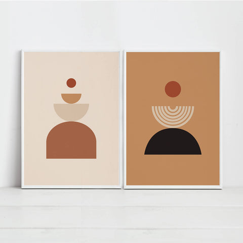 Geometric Abstract Wall Art Prints