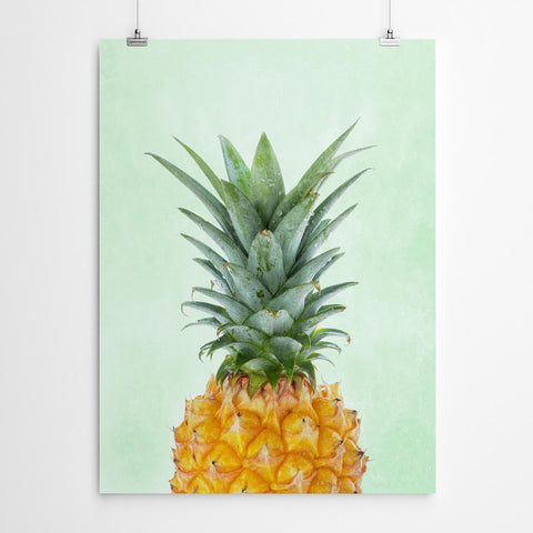 Green Pineapple Wall Art