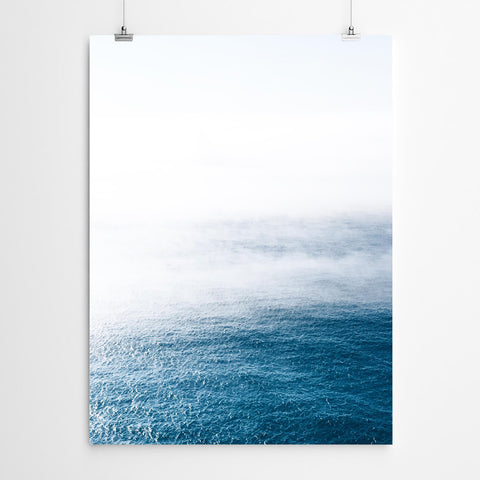 Misty Ocean Wall Art