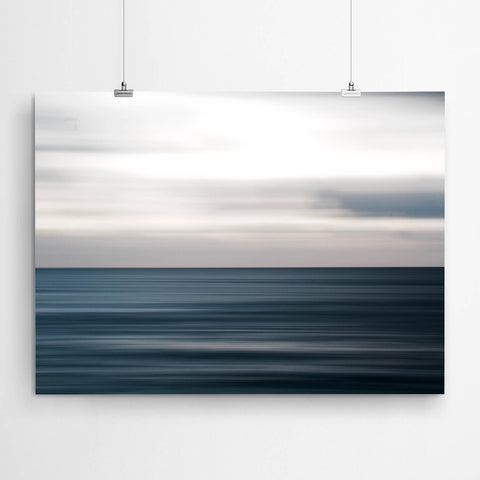 Ocean Abstract Canvas Print