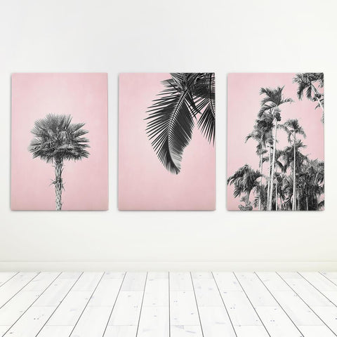 Palm Art Set Canvas