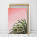 palm print wall decor canvas south africa