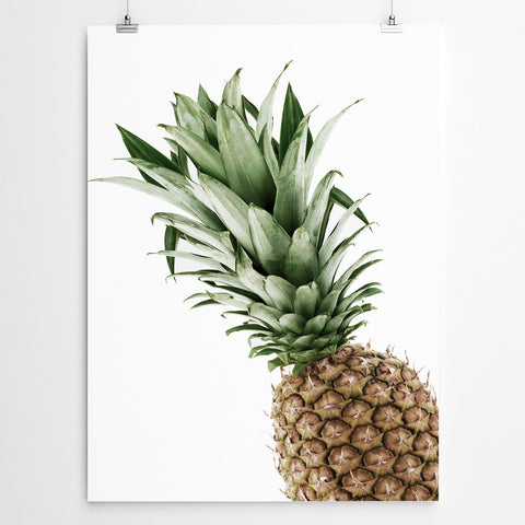 Fruity pineapple art print