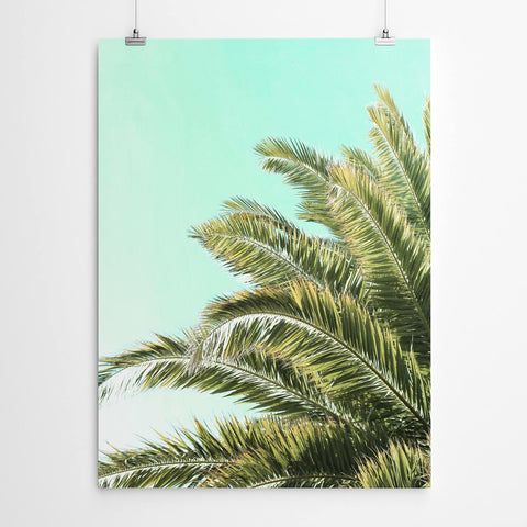 Tropical Palm Art Print