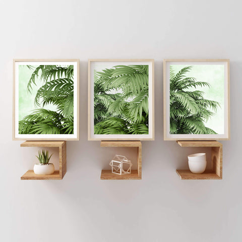 Tropical art set