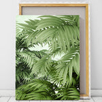Tropical canvas art