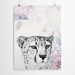 Watercolour-Cheetah-Painting printing cape town