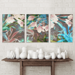 Floral Wall Art Set Canvas Print