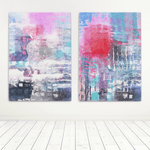 Abstract Canvas Print Artworld Cape Town