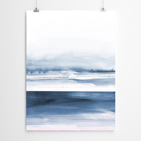 Abstract Beach Art Canvas