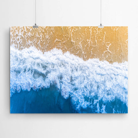 Aerial Beach Wall Art