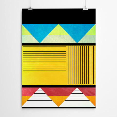 African Geometric Wall Art