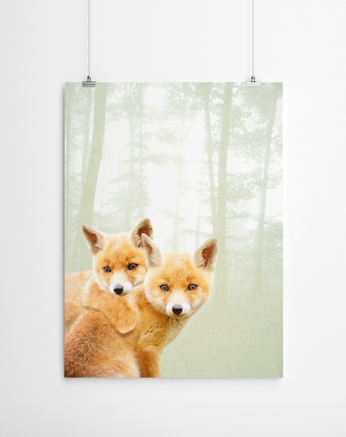 baby-fox-print-artworld-cape-town