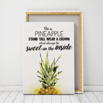 Be A Pineapple art canvas prints Cape Town