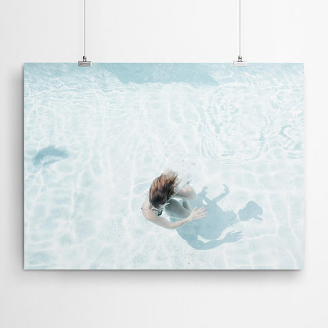 Pool Canvas Wall Art Prints